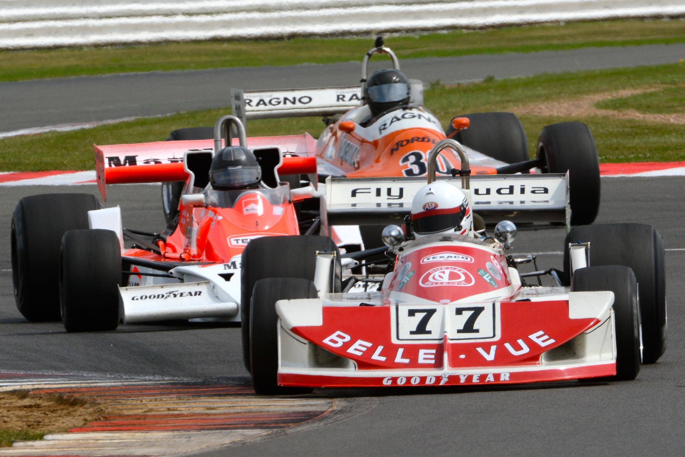 Record FIA Masters Historic Formula One Grid Roars Into ...