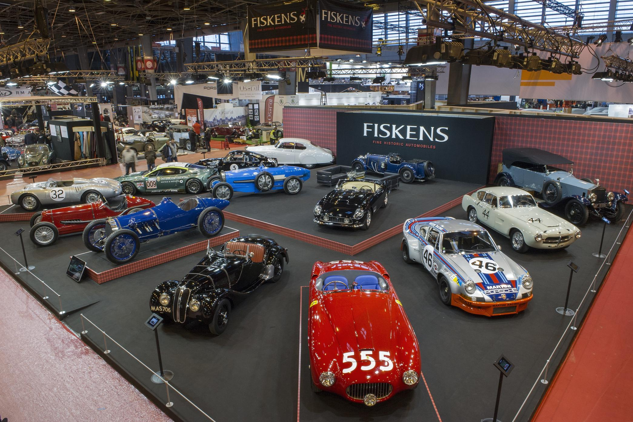 fiskens annouces return to paris retromobile in 2016 auto addicts. Black Bedroom Furniture Sets. Home Design Ideas