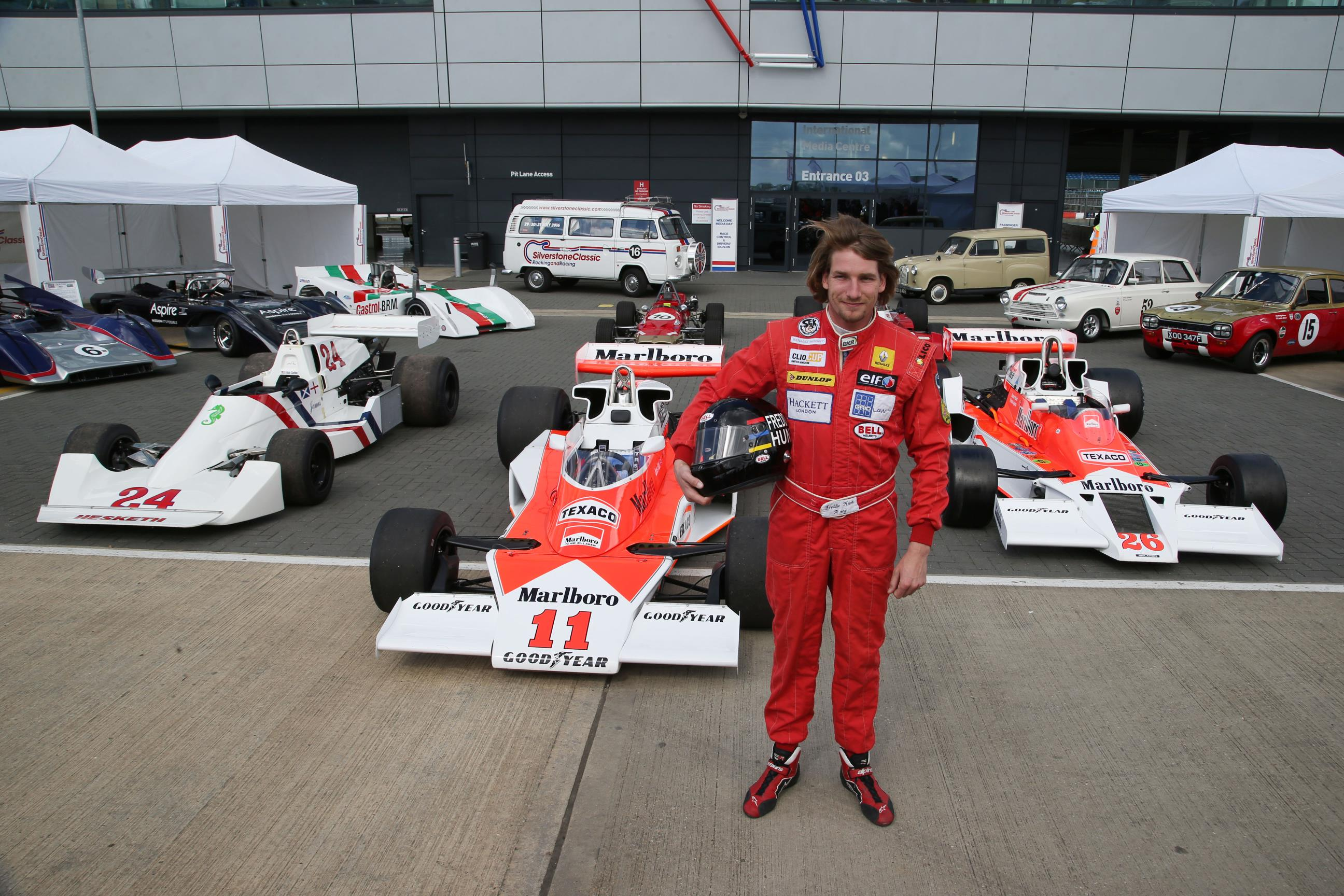 Tribute to James Hunt at Silverstone Classic - Auto Addicts