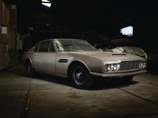 Silverstone Auctions May Sale Features Year Old Aston Martin Barn - Old aston martin for sale