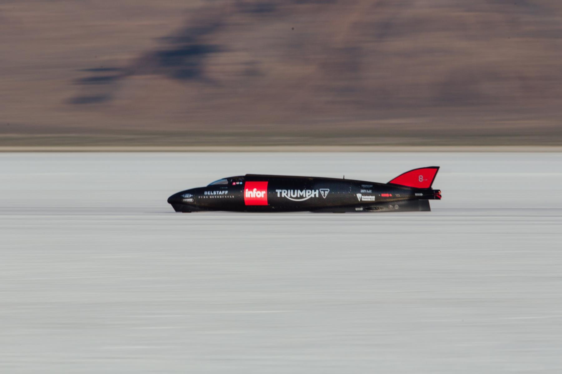 Guy Martin Pilots Triumph Infor Rocket Streamliner Auto Addicts