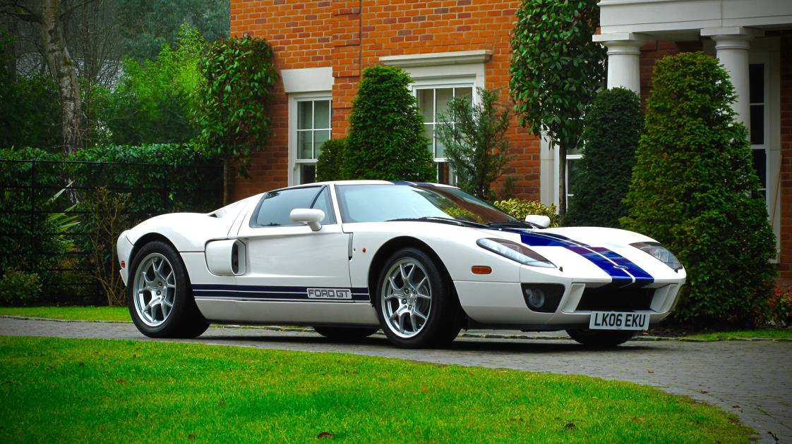 2005 ex jenson button ford gt40 for sale auto addicts. Black Bedroom Furniture Sets. Home Design Ideas