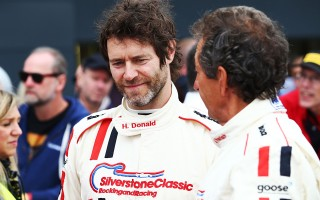 1420886_Howard Donald ready to race at the Silverstone Classic