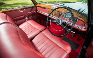 1954 Mercedes-Benz 300 Adenauer Cabriolet interior 1